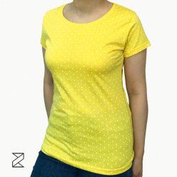 تیشرت زرد دخترانه