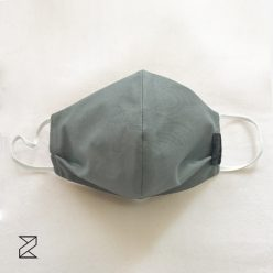 ماسک پارچه ای طوسی زیما استایل