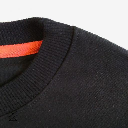 فروش عمده سوییشرت دورس پنبه مشکی مردانه و زنانه یونیسکس